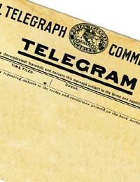 qualifying for a telegram from the queen